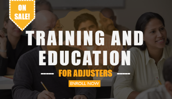 Insurance Adjuster Training and Education